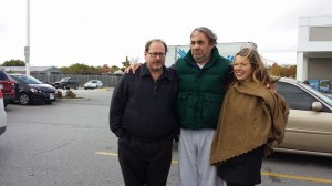 Cast from left to right Daryl Marks (Joe) Rob Nickerson (truck driver) Meredith Heinrich (Marjorie)